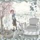 「四季と花と…」シリーズ第二弾。抑え目の配色で童話のような構図にしました。2014/05/24